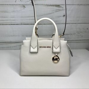 Michael Kors Vanilla Small Satchel NWT